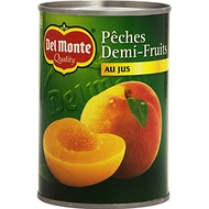 Del Monte Pêches Demi-Fruits au Jus 420 g