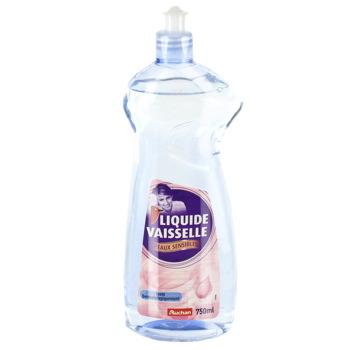 liquide vaisselle peaux sensibles auchan 750ml tous les produits liquides vaisselle prixing. Black Bedroom Furniture Sets. Home Design Ideas