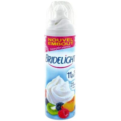Bridelight creme fouettee 11,5%mg 250g