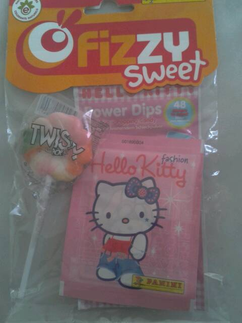 Assortiment de confiseries Hello Kitty FIZZY SWEET, 35g