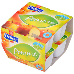 Compote Delisse pomme 8x100g