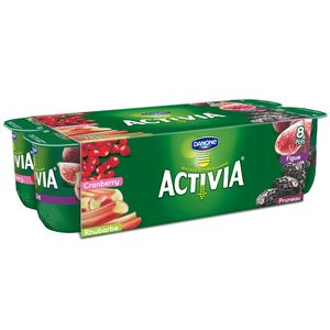 Activia bifidus fruits panachés fruits rouges 8x125g