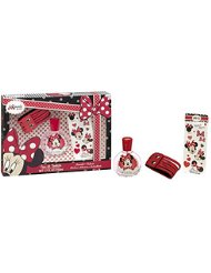 DISNEY Minnie Coffret Cadeau Eau de Toilette 50 ml + Bracelet + Stickers