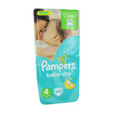 couches baby dry taille 4 pampers x 60
