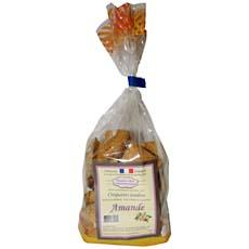 Croquants tendres aux amandes BISCUITERIE ST ROCH, 225g