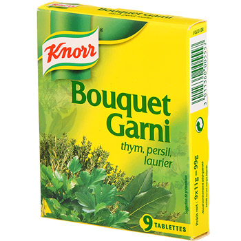 Knorr bouquet garni tablette x9 -99g