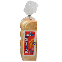 Pain de mie Eco+. 500g