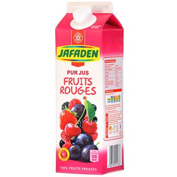 Jus de fruits rouges Jafaden 1l