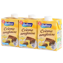 Creme anglaise Delisse 3x20cl