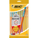 Bic Matic Strong Porte-Mines Jetables 0,9 mm Pochette de 10 Maxi Pack