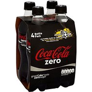 Coca Cola Zero (4x500ml) - Paquet de 2
