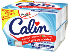 PRODUIT INACTIF - Fromage frais onctueux Calin 20%mg 8x100g
