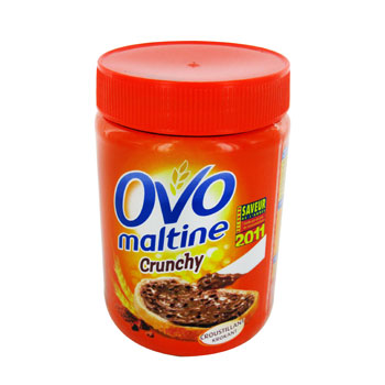 pate a tartiner ovomaltine crunchy 400g tous les produits miels p 226 tes 224 tartiner prixing