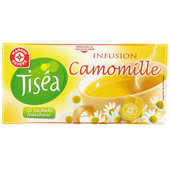 Infusion camomille Tisea 25 sachets 37.5g