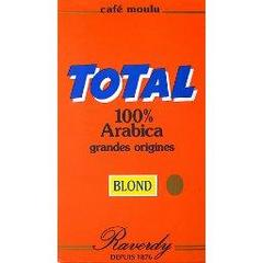 Café moulu blond 100% arabica grandes origines - Total