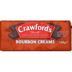 Crawford's, Bourbon creams biscuits, le paquet,150g
