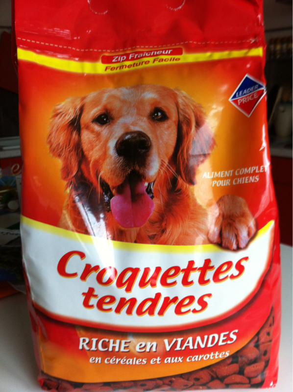 Croquettes tendres, riches en viandes 4kg