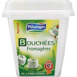 Bouchees fromageres, ail et fines herbes, le pot, 120g