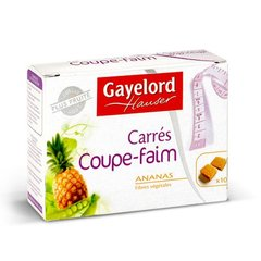 Gayelord Hauser, Coupe Faim - Complement alimentaire, carres a l'ananas, les 10 carres de 10g
