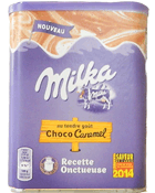 Recette onctueuse choco-caramel MILKA, 400g