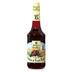 Sirop de fruits rouges MOULIN DE VALDONNE, 70cl