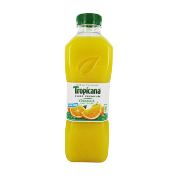Jus d'orange Pure Premium, avec pulpe Tropicana