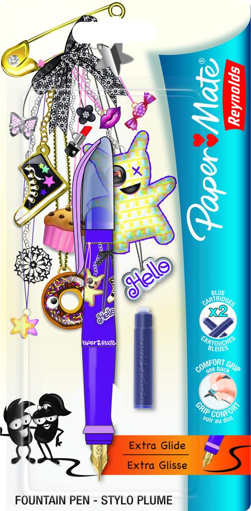stylo plume glisse
