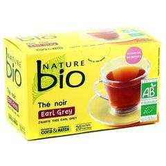 Nature bio the earl grey 20 sachets 36g