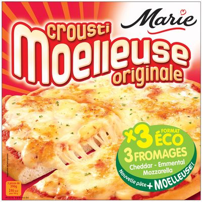 Pizzas Crousti Moelleuse fromage