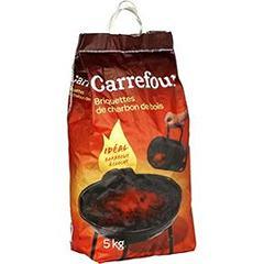 briquettes de charbon de bois ideal barbecue a cloche tous les produits chauffage allumage. Black Bedroom Furniture Sets. Home Design Ideas