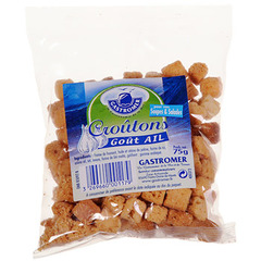 Croutons Gastromer ail 75g