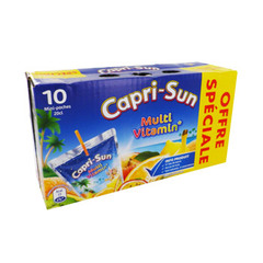 Capri Sun multivitamines poche 10x20cl