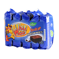 Mini brownies Break Up WHAOU, 5 unites,185g