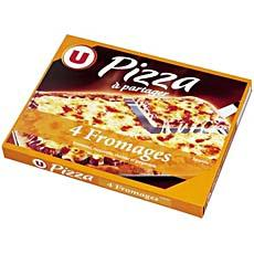 Pizza familiale 4 fromages U, 600g