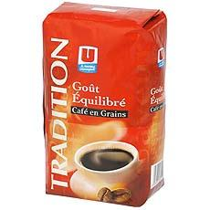 Cafe en grains Tradition U, 1kg