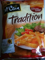 Mc Cain frites tradition 1kg
