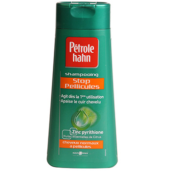 Petrole Hahn - stop pellicules shampooing Anti-Pelliculaire - Usage Frequent - Cheveux Normaux -huile essentiel de citrus, 250 ml