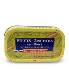 Filets d'Anchois aux olives