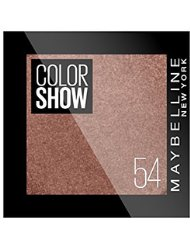 GEMEY MAYBELLINE Colorshow Fard à Paupières 54 Brown Club