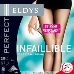Eldys Collant perfect infaillible naturel voile lycra 20D - T6 L'unité