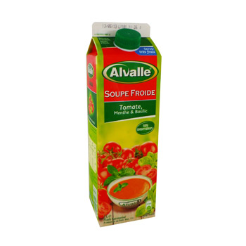 Alvalle tomate menthe basilic 1l