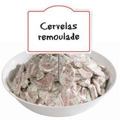 Cervelas remoulade, au rayon traditionnel , a la coupe