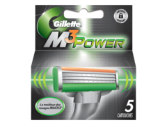 Gillette lames mach 3 power sensitive x5