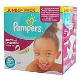 Couches Pampers Active Fit T5 + Jumbo + x58