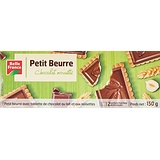 Belle France Biscuits Petit Beurre Chocolat Noisette 150 g - Lot de 6