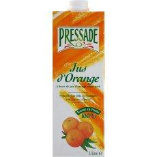 Jus d'orange a base de concentre PRESSADE, 1l