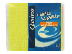 Carres vaisselle tres absorbants