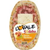 Sodebo pizza ovale bacon raclette 200g