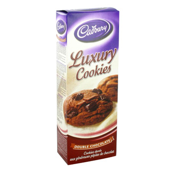Luxury Cookies double chocolat