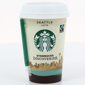 Seattle Latte Boisson lactee au cafe Starbucks, aromatisee au caramel